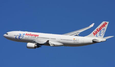 Passagens aéreas Air Europa