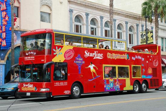 Passeios de ônibus em Los Angeles